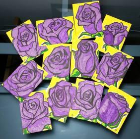 Sketch Card Roses